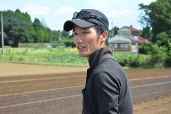10年近く有機農業を行う森正延さん