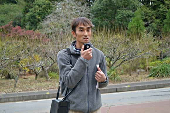 千葉県にある3農場を統括する農場長の岡田拓也