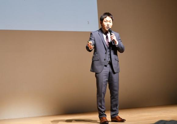 「みんなの夢AWARD in 陸前高田」でグランプリに輝いた富山泰庸さん