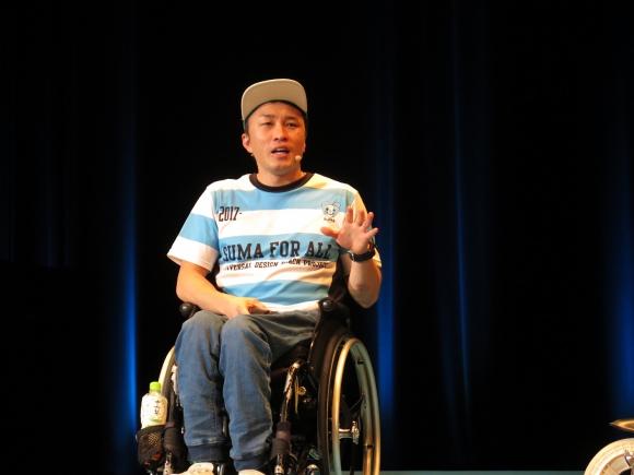 障がい者も健常者も楽しく遊べる場づくりに取り組む木戸俊介さん