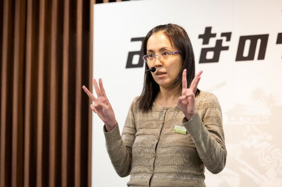 ゲーム感覚の五感脳トレーニングを開発した武田規公美さん