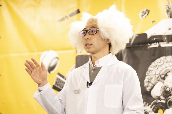 「水問題」に取り組む谷本和考さんは准グランプリに輝いた